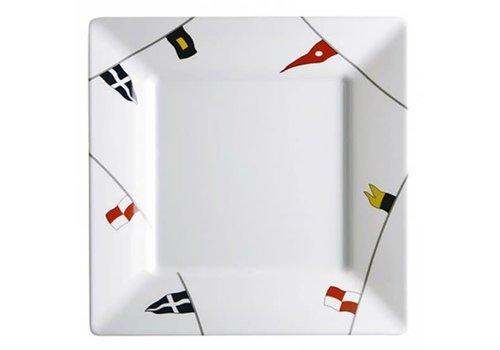 ARC Marine Regata - Vierkant bord - 25x25 cm