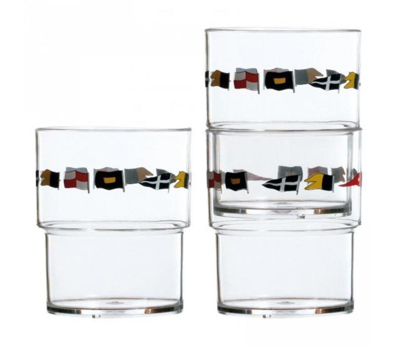 Regata - Stapelbaar glas