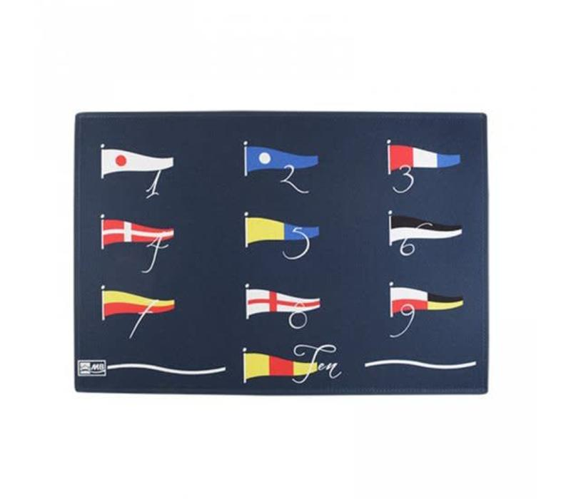Welcome - 123 Flags - 75x50 cm