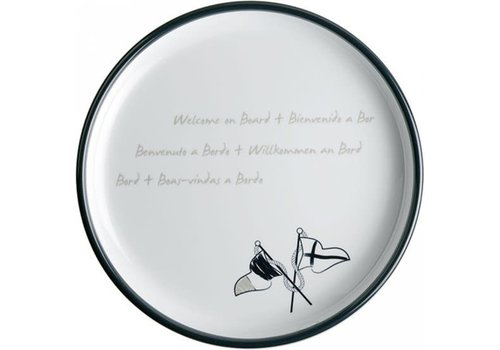 ARC Marine Welcome on Board - Ontbijtbord √∏ 21cm