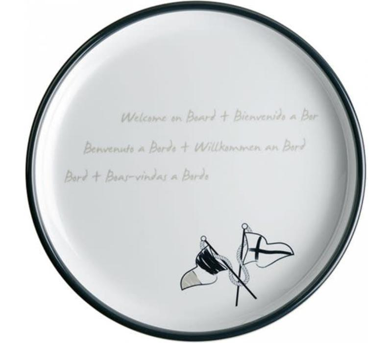 Welcome on Board - Ontbijtbord ø 21cm