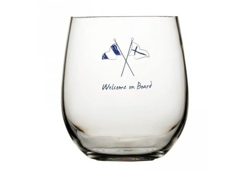 ARC Marine Welcome on Board - Groot drinkglas - H 13 cm