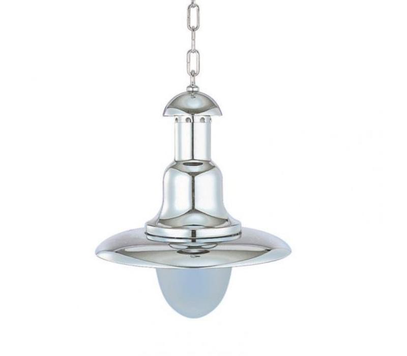 Hanglamp 'Fissiaggio' verchroomd - Medio