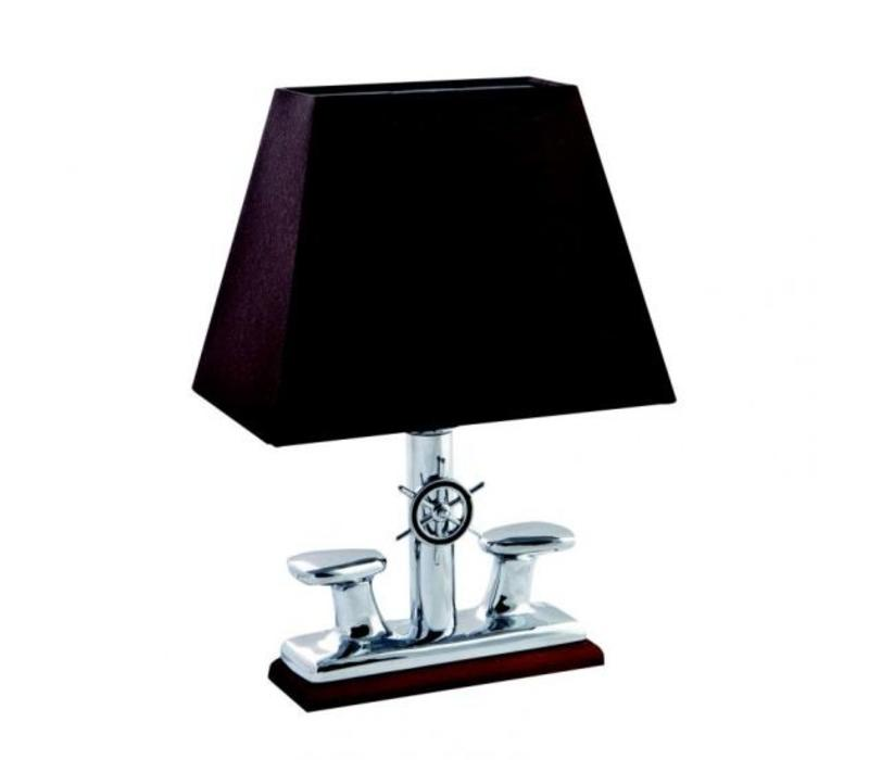 Lamp 'Bollard' verchroomd