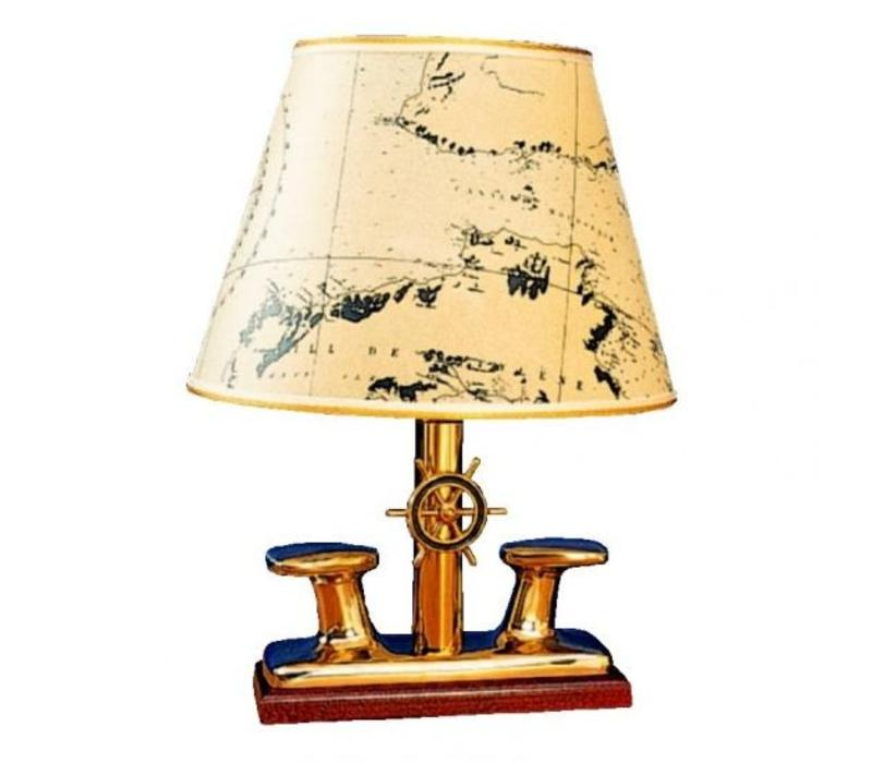 Lamp 'Bollard' messing ø 27 cm
