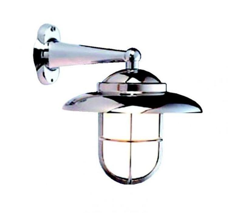 Wandlamp 'Fissiaggio' verchroomd