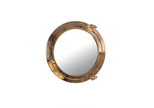 ARC Marine Patrijspoort spiegel messing √∏ 18 cm