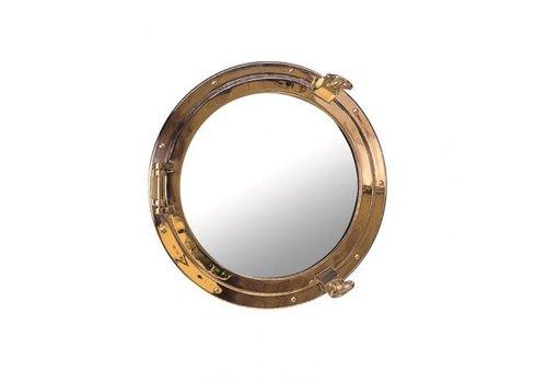 ARC Marine Patrijspoort spiegel messing √∏ 26 cm