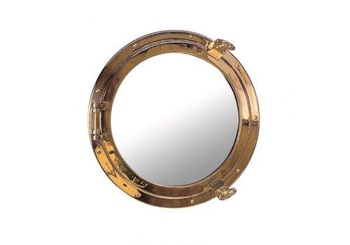 ARC Marine Patrijspoort spiegel messing ø 30 cm