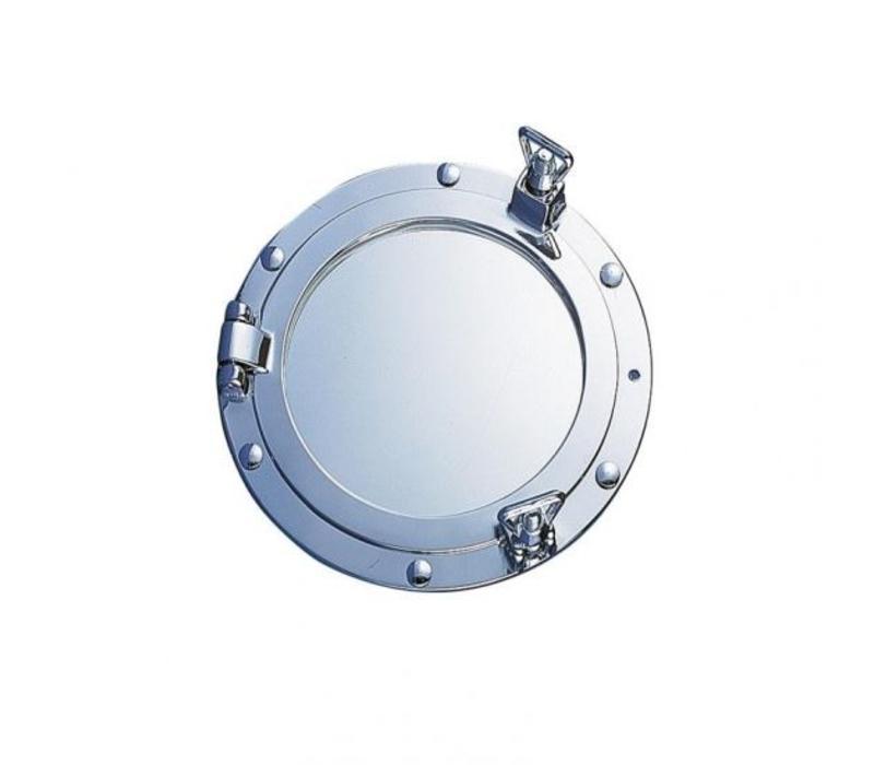 Patrijspoort spiegel verchroomd ø 18 cm
