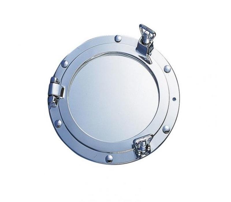 Patrijspoort spiegel verchroomd ø 26 cm