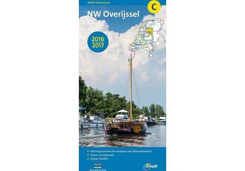 Waterkaart C noord-west Overijssel 2018/2019