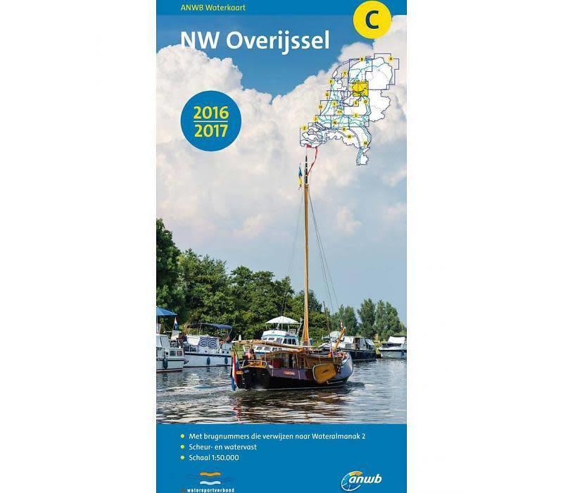 Waterkaart C noord-west Overijssel