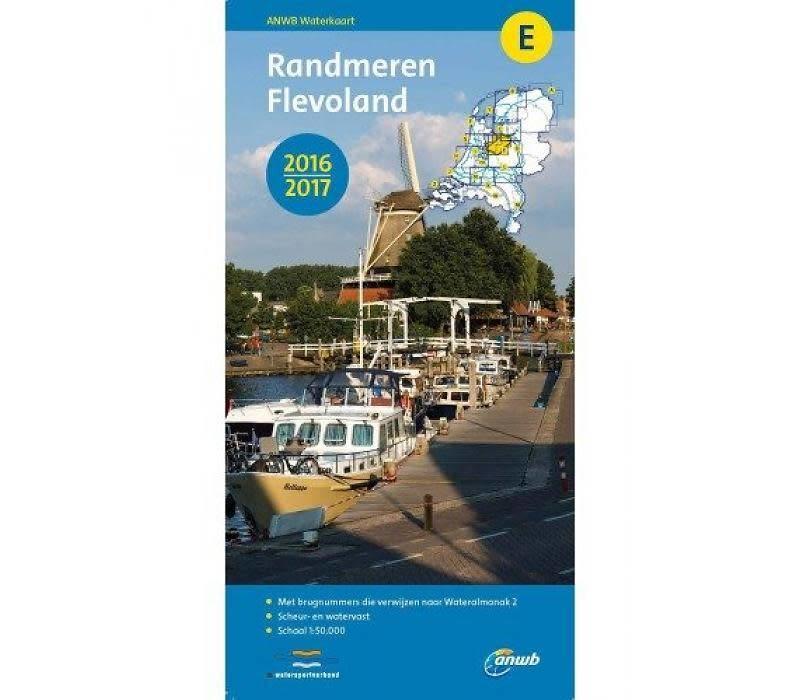 Waterkaart E Randmeren-Flevoland