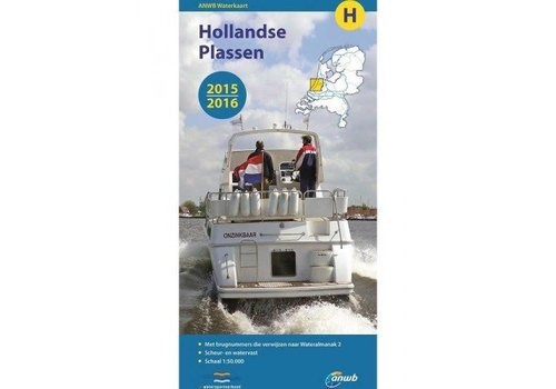 Waterkaart Hollandse Plassen - H 2017/2018