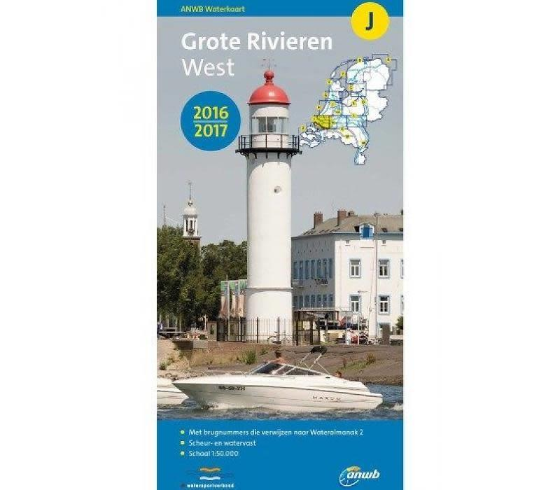 Waterkaart J Grote Rivieren West 2016/2017