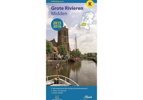 Waterkaart Grote Rivieren Midden - K 2017/2018