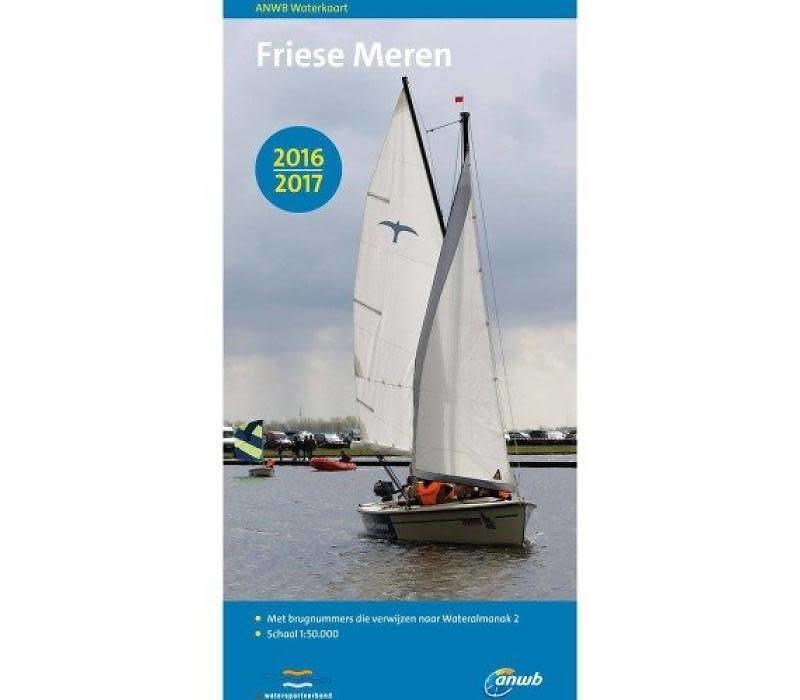 Waterkaart Friese Meren 2018-2019