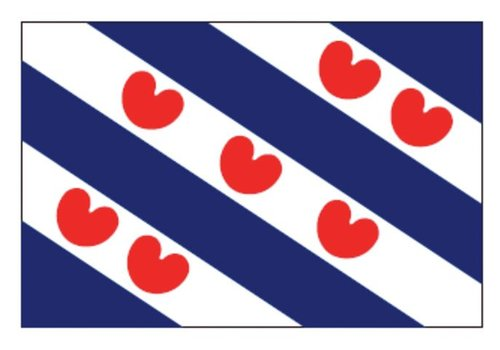 Talamex Talamex vlaggen Nederland: Provincievlag Friesland 30X45