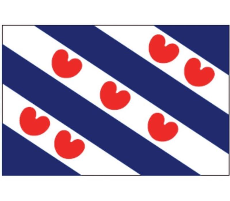 Talamex vlaggen Nederland: Provincievlag Friesland 100x150