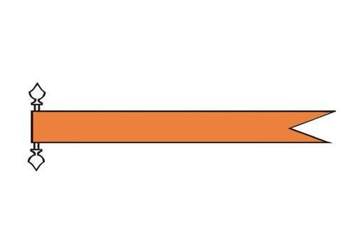 Talamex Talamex vlaggen Nederland: Wimpel Oranje 180