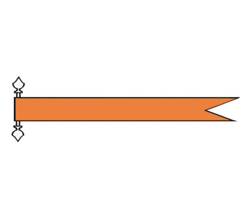 Talamex vlaggen Nederland: Wimpel Oranje 180