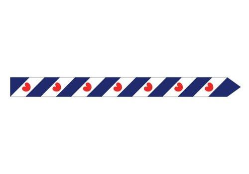 Talamex Talamex vlaggen Nederland: Wimpel Friesland 400