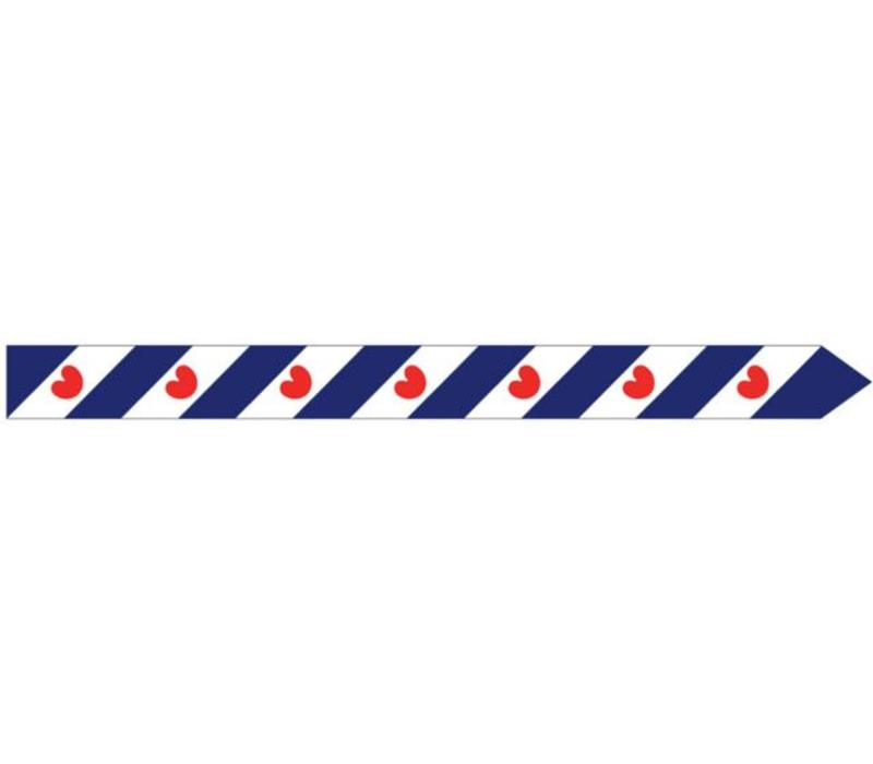Talamex vlaggen Nederland: Wimpel Friesland 400