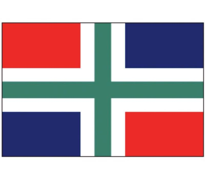 Talamex vlaggen Nederland: Provincievlag Groningen 20x30