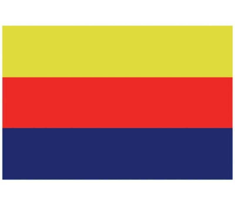 Talamex vlaggen Nederland: Provincievlag Noord-Holland 20X30