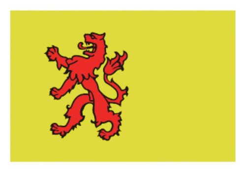 Talamex Talamex vlaggen Nederland: Provincievlag Zuid-Holland 30X45