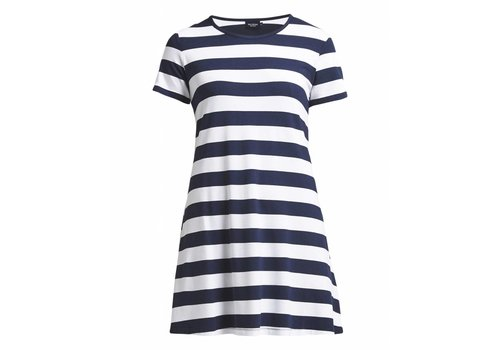 Holebrook HOLEBROOK Elsa Tee Dress navy/white (block stripe)