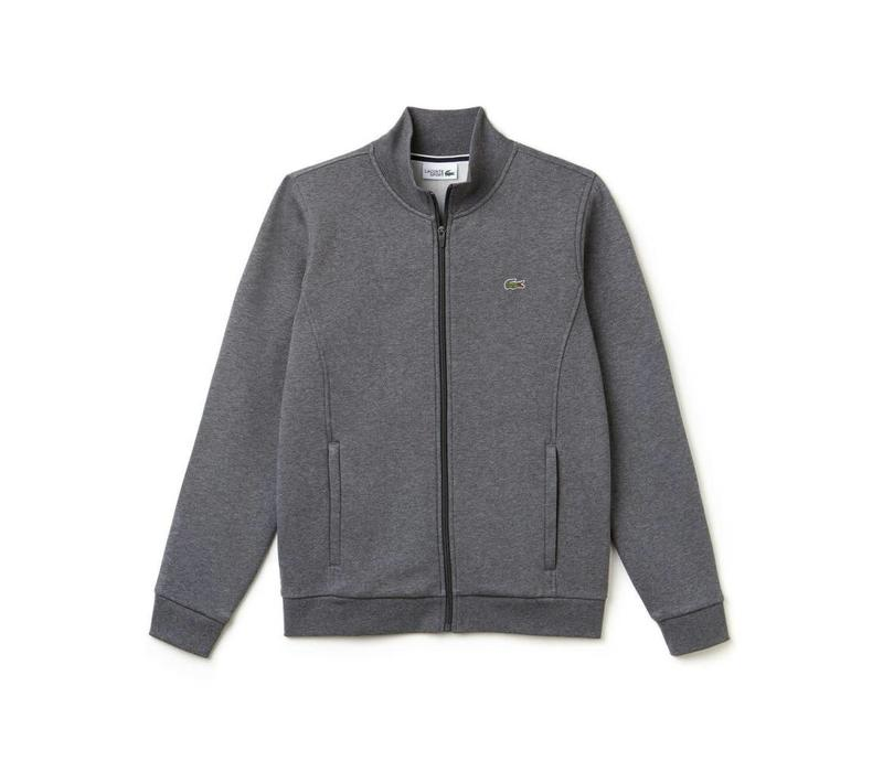 LACOSTE SPORT MOLTON SWEATER MET RITS PITCH