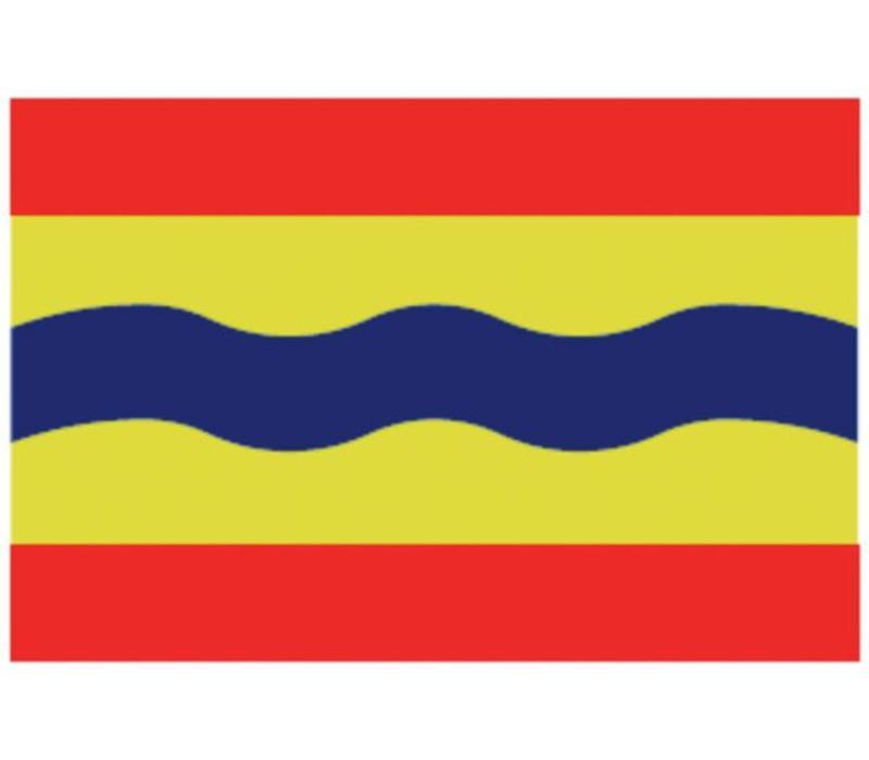 Talamex vlaggen Nederland: Provincievlag Overijssel 20x30
