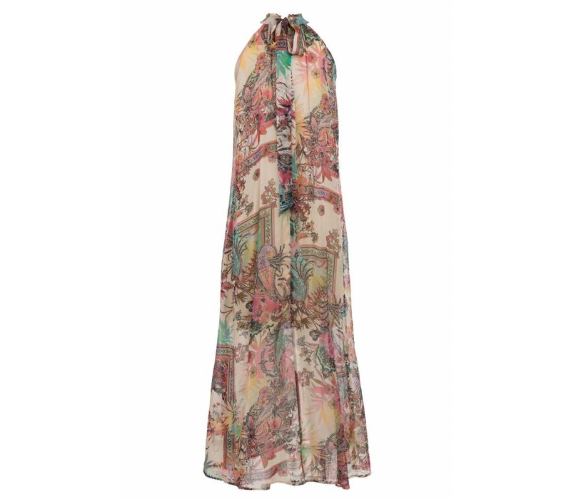 ANA ALCAZAR MAXI DRESS BEIGE