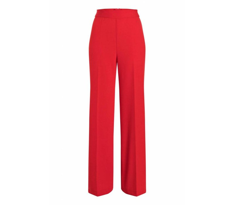 ANA ALCAZAR WIDE TROUSERS RED