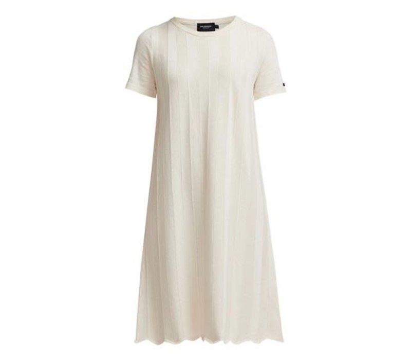 HOLEBROOK ELISABETH DRESS ECRU