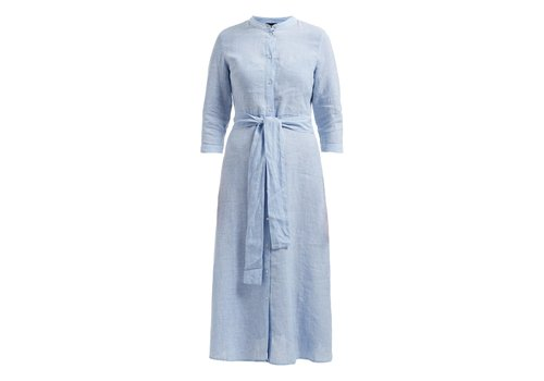 Holebrook HOLEBROOK ANN SHIRT DRESS LIGHT BLUE/WHITE