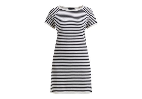 Holebrook HOLEBROOK LOLLO DRESS OFFWHITE/NAVY