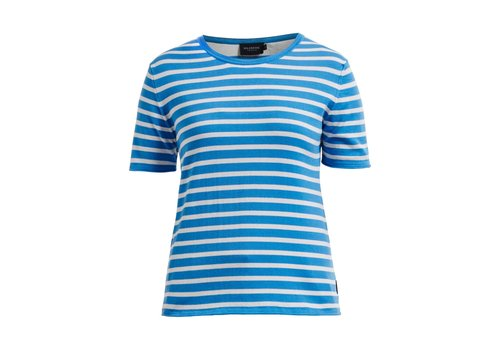 Holebrook HOLEBROOK LOLLO TEE REGATTA/OFFWHITE