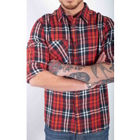 AMSTERDENIM RONALD CHECKED RED