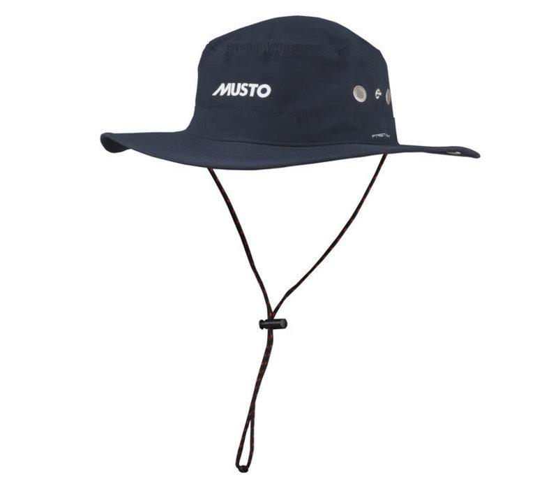MUSTO AL1410 Evo UV Fd Brimmed Hat True Navy