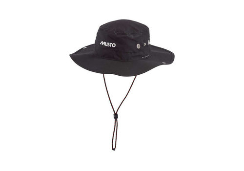 Musto MUSTO AL1410 Evo UV Fd Brimmed Hat Black
