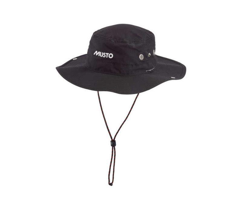 MUSTO AL1410 Evo UV Fd Brimmed Hat Black