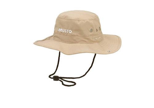 Musto MUSTO AL1410 Evo UV Fd Brimmed Hat Stone