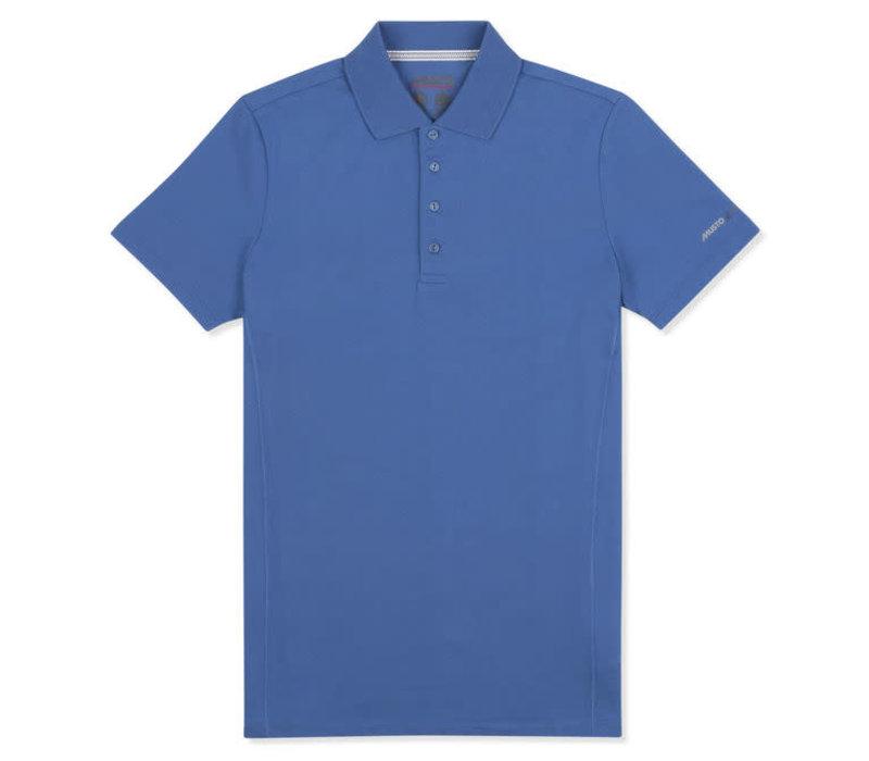 MUSTO EMPS012 Evo Sunblock Ss Polo Drift Blue