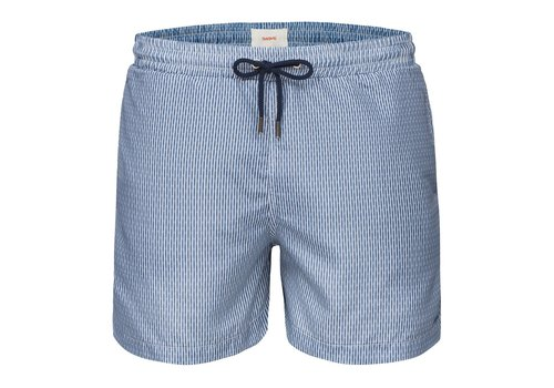 SWIMS SWIMS BREEZE SWIMSHORTS LONG ALLOY GRID