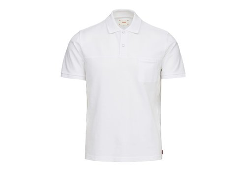 SWIMS SWIMS BREEZE POLO SHIRT WHITE