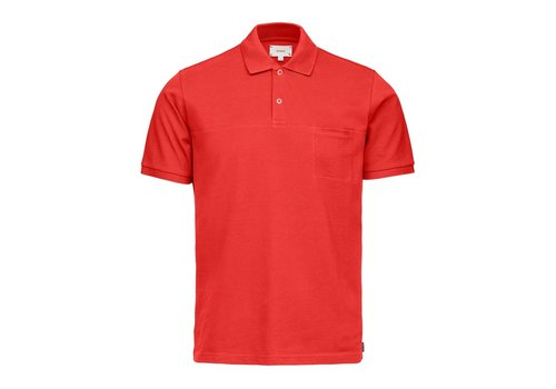 SWIMS SWIMS BREEZE POLO SHIRT RED ALERT