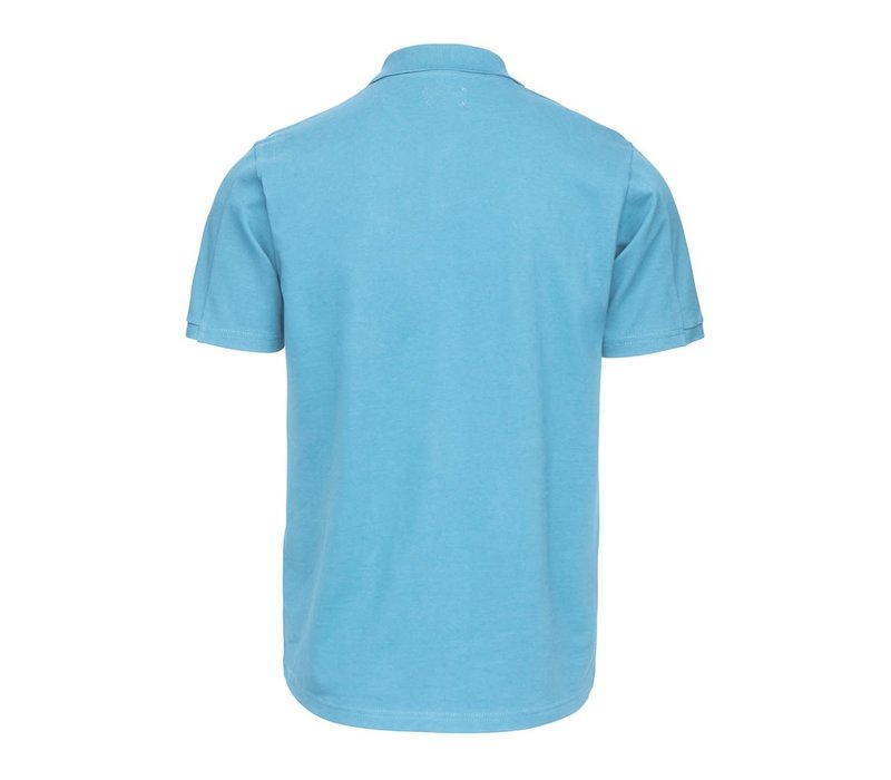 SWIMS BREEZE POLO SHIRT NORSE BLUE